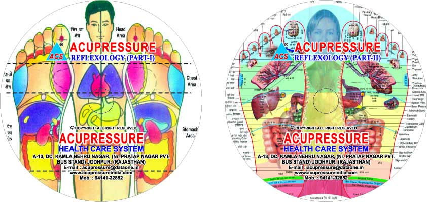 Acupressure Reflexology DVD - set of 2  - 572