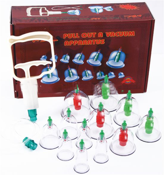 Vacuum Cupping Set of 12 - General  - VCR